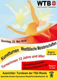 Westfälische Meisterschaften 2016